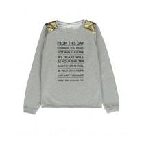134617 Nocturne ladies sweatshirt 2 colors (24 pcs)