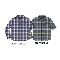 134636 Design Matters teen boys blouse combo 2 chai tea (6 pcs)