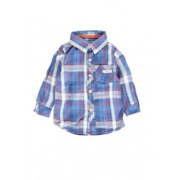 134661 Earthed blouse baby boys blouse combo 1 blue checks (4 pcs)