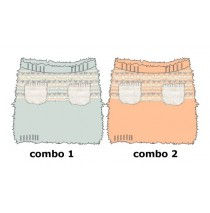 Design Matters baby girls skirt combo 2 salmon (4 pcs)