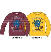 134896 Infusion small boys shirt combo 2 golden rod (6 pcs)