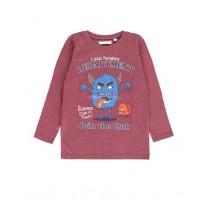 Infusion small boys shirt combo 1 purple melange (6 pcs)