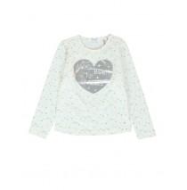134934 Nocturne small girls shirt combo 1 marshmallow (6 pcs)