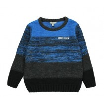 134972 Earthed small boys pullover directoire blue (5 pcs)