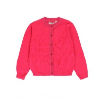 135012 Encounter Culture cardigan small girls combo 1 raspberry (6 pcs)