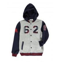 135085 Design Matters cardigan sweater grey melange (5 pcs)