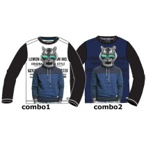 135099 Nocturne teen boys shirt combo 2 blue depths (6 pcs)