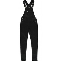 Essentials teen girls Jog denim overall black (5 pcs)