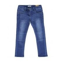 135170 Small girls Jog denim pant blue (5 pcs)