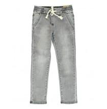 135172 small girls Jog denim pant grey (5 pcs)