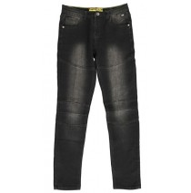 135215 teen boys Jog denim pant black (5 pcs)