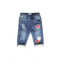 135228 Design Matters baby girls Jog denim pant blue (4 pcs)