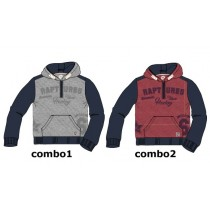 135286 infusion teen boys sweatshirt combo 2 tibetan red (6 pcs)