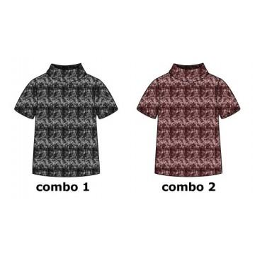 135306 Nocturne teen girls shirt  combo 2 winetasting (6 pcs)
