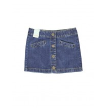 Earthed small girls skirt blue (5 pcs)