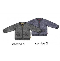 Infusion baby boys cardigan combo 2 blue depths (4 pcs)