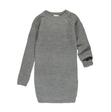 135374 Earthed teen girls dress grey (5 pcs)