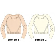 Nocturne small girls pullover combo 2 marshmallow (6 pcs)