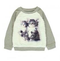 Infusion small girls sweatshirt combo 1 dark beige (6 pcs)