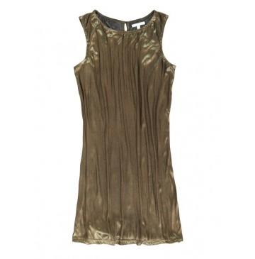 135409 Nocturne teen girls dress gold combo (5 pcs)