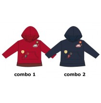 135420 Earthed small girls sweatshirt combo 2 total eclipse (6 pcs)