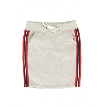 135436 Essentials teen girls skirt grey melange (5 pcs)