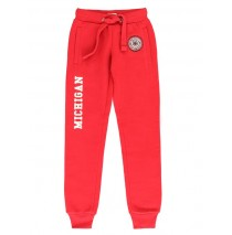 135456 Essentials teen girls jogging pant scarlet sage (5 pcs)