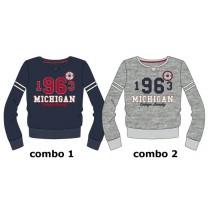 Essentials teen girls sweatshirt  combo 2 grey melange (3 pcs)