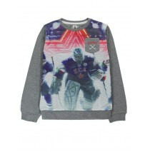 135467 infusion teen boys sweatshirt combo 1 dk grey melange (6 pcs)
