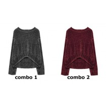 135496 Nocturne teen girls pullover combo 2 winetasting (6 pcs)