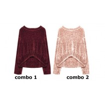 135497 Nocturne small girls pullover combo 2 evening sand (6 pcs)