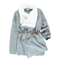 135499 Infusion teen girls cardigan grey melange (5 pcs)