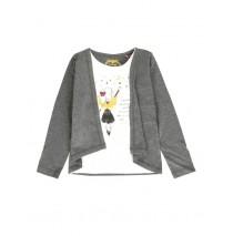 Nocturne small girls shirt combo 1 antra melange (6 pcs)