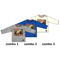 Design matters baby boys shirt combo 3 marshmallow (4 pcs)