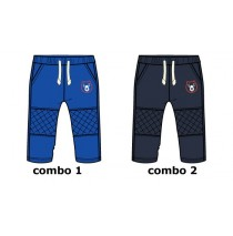 135519 Infusion baby boys jogging pant combo 2 total eclipse (4 pcs)