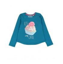 135533 Design Matters small girls shirt combo 1 enamel blue  (6 pcs)