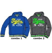 Essentials small boys sweatshirt combo 2 dk grey melange (6 pcs)