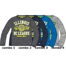Essentials small boys shirt combo 3 directoire blue (6 pcs)