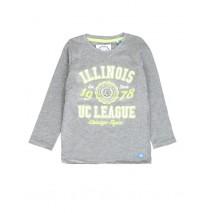 Essentials small boys shirt combo 4 grey melange (6 pcs)