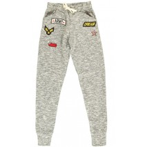 135555 Nocturne teen girls jogging pant grey (5 pcs)