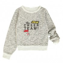 135556 Essentials teen girls sweatshirt  grey (5 pcs)