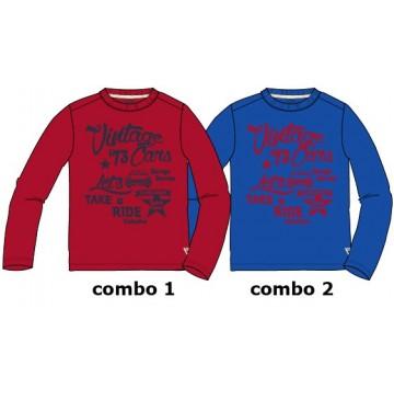 Infusion small boys shirt combo 2 nautical blue (6 pcs)