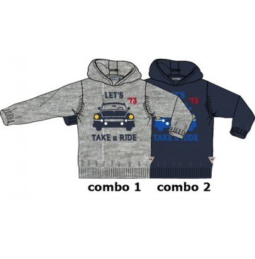 135586 Infusion small boys pullover combo 2 total eclipse (6 pcs)