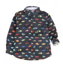 135587 Infusion small boys blouse  combo 1 total eclipse (6 pcs)