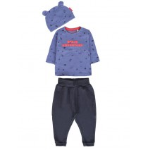 135674 Infusion baby boys set combo 1 true navy (4 pcs)