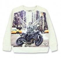 135722 Infusion small boys sweatshirt combo 1 light grey melange (6 pcs)