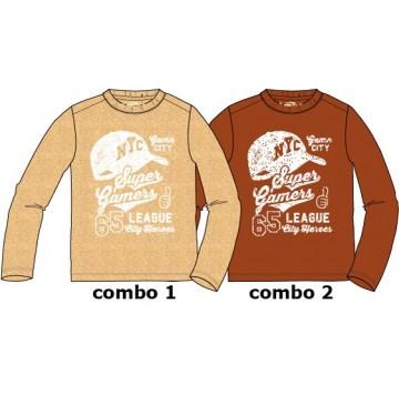 135742 Design Matters small boys shirt combo 2 ketchup (6 pcs)