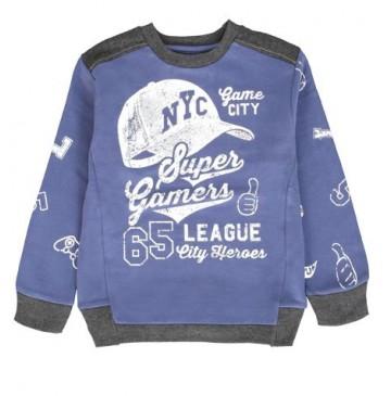 Design Matters small boys sweatshirt combo 1 true navy (6 pcs)