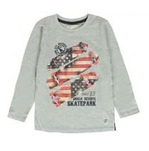 135746 Infusion small boys shirt combo 1 grey melange (6 pcs)