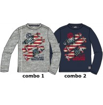 Infusion small boys shirt combo  2 total eclipse (6 pcs)
